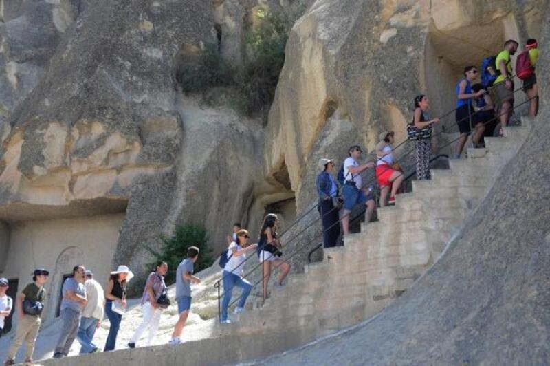 Kapadokya'ya bayramda yoğun ilgi