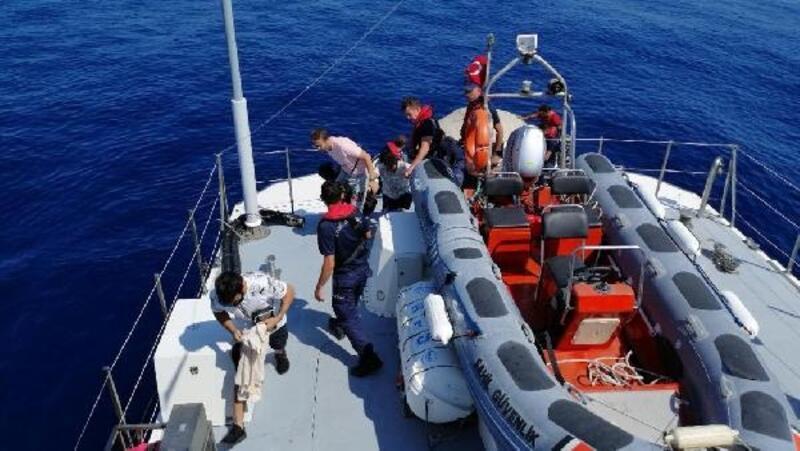 Datça'da 16 kaçak göçmen yakalandı