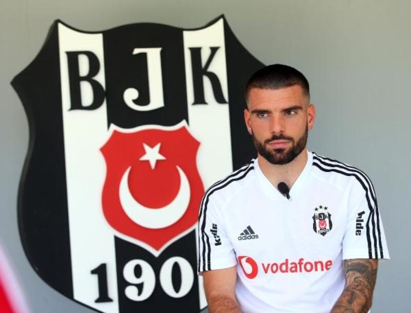 Pedro Rebocho: Beşiktaş kariyerimde çok büyük bir adım