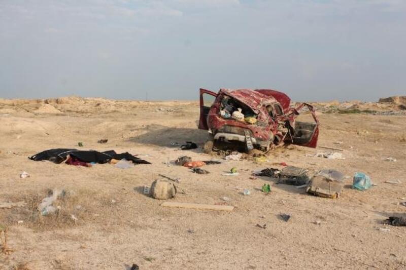Cip şarampole devrildi: 1'i çocuk 3 kişi öldü, 4 kişi yaralandı