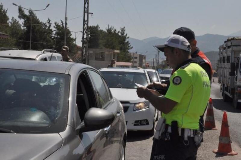 İslahiye'de polis ve jandarmadan ortak uygulama