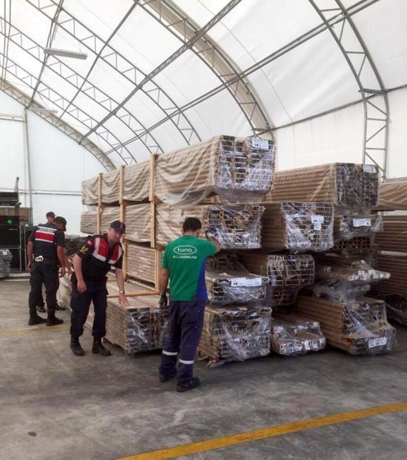 Çerkezköy'den çalınan malzemeler İstanbul'da bulundu