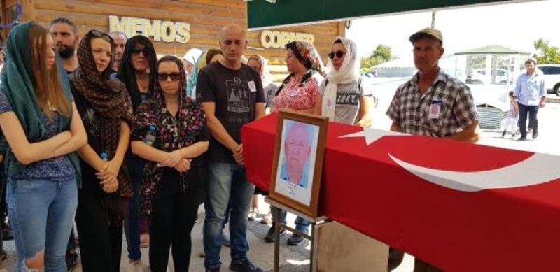 Kıbrıs gazisi Işık, askeri törenle son yolculuğuna uğurlandı