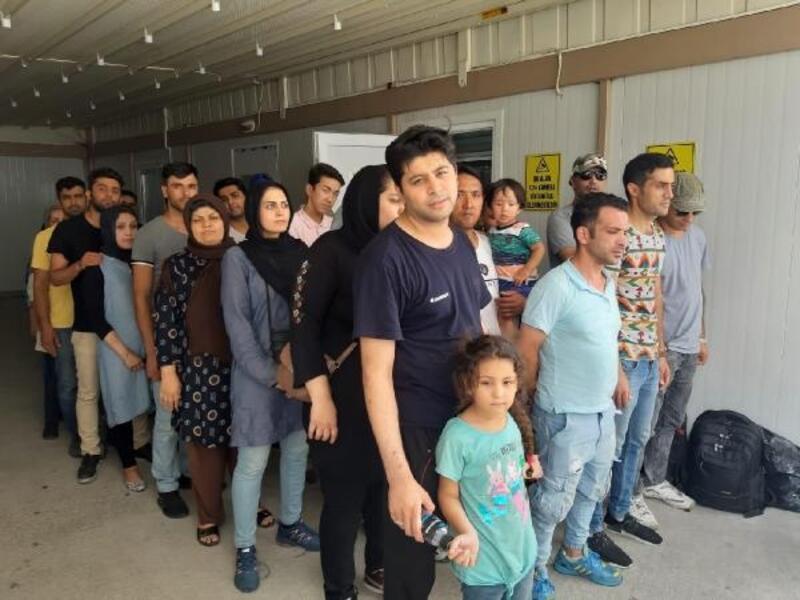 Keşan'da 40 kaçak göçmen yakalandı