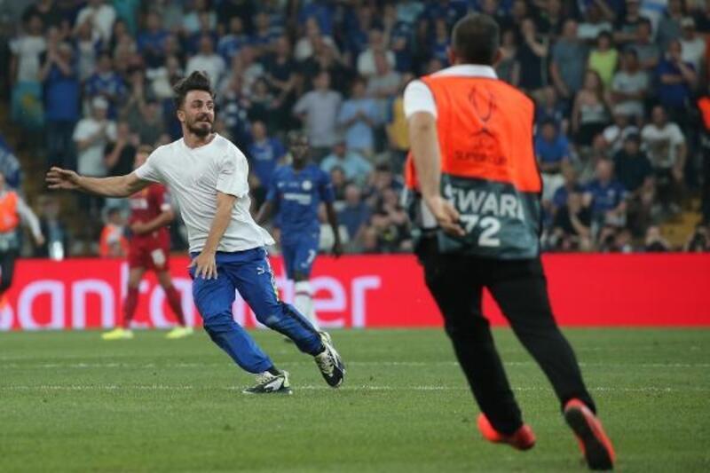 Süper Kupa finalinde 25 kişi gözaltına alındı