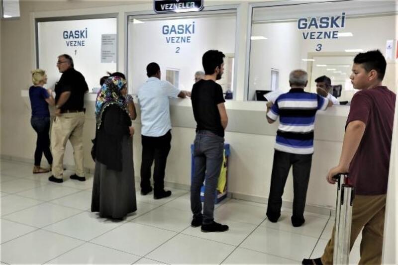 GASKİ, su borcu taksitlendirmede süresini uzattı