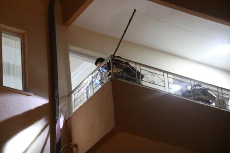 Beşinci kattan düşen Eymen Gazi bebek ağır yaralandı