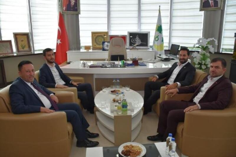 Milletvekillerinden Başkan Beyoğlu'na ziyaret