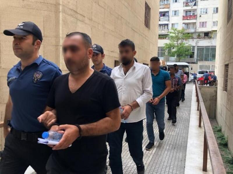Bursa'da PKK/KCK operasyonunda gözaltına alınan 8 kişi adliyede