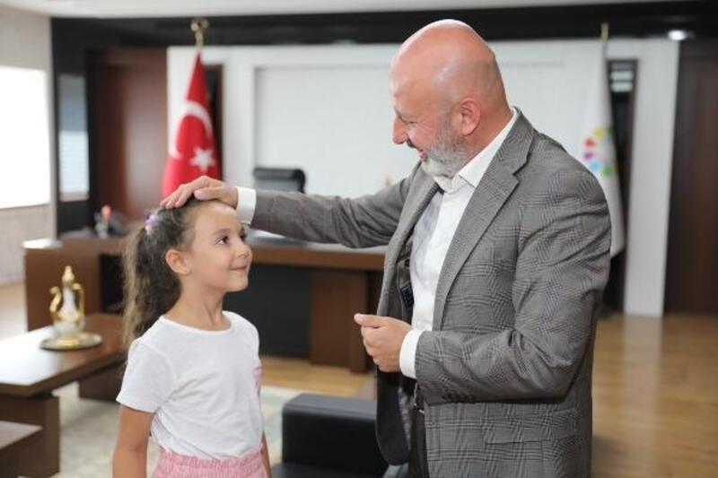 Başkan Çolakbayrakdar'a sürpriz ziyaret