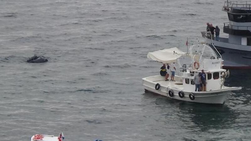 Sinop'ta karaya oturan gezi teknesi kurtarıldı
