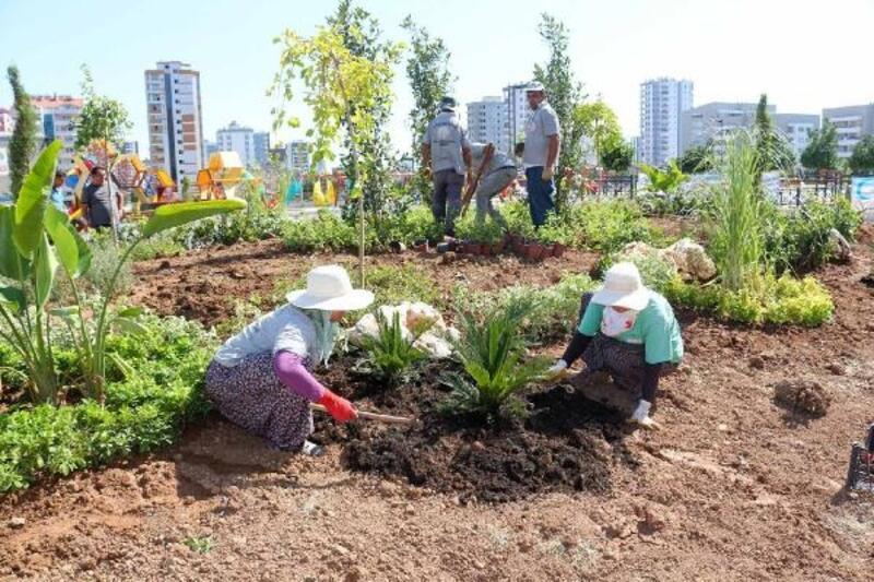 Adana'nın dört bir yanında peyzaj ve düzenleme çalışmaları sürüyor