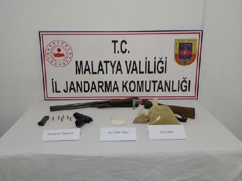 Malatya'da uyuşturucuya 1 gözaltı