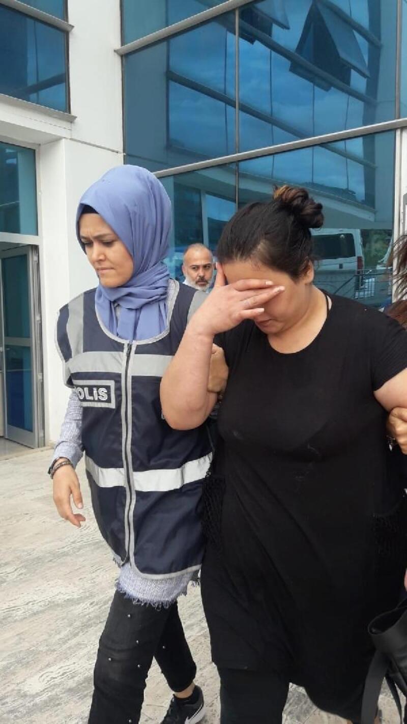 48 yıl hapis cezası bulunan kadın özel ekiple yakalandı