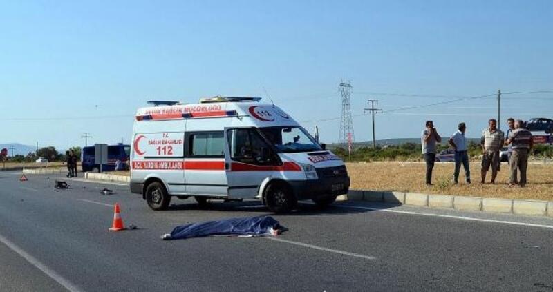 Elektrikli motosikletin sürücüsü kazada öldü