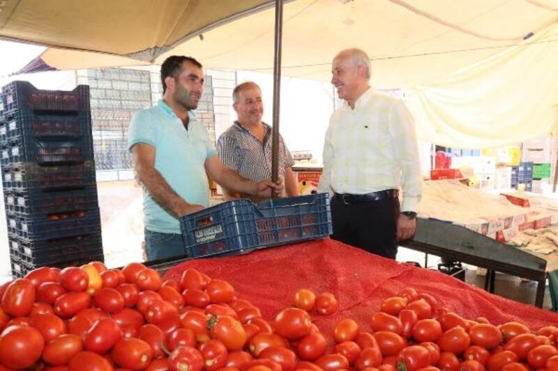 Başkan Gültak, pazarcı esnafını dinledi