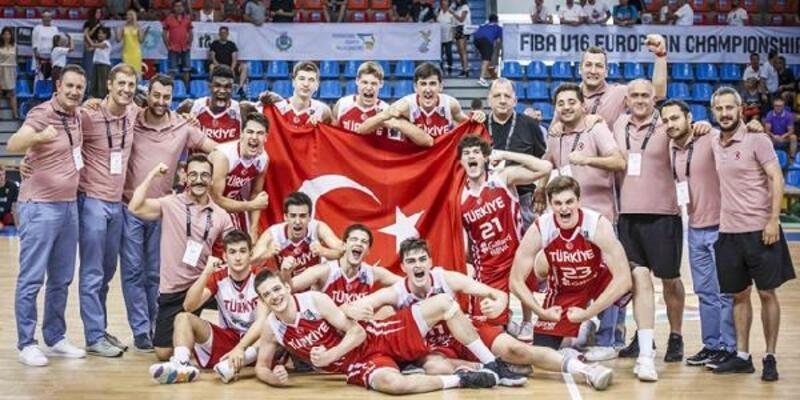 Türkiye, FIBA 16 Yaş Altı Erkekler Avrupa Şampiyonası'nda 5'inci oldu
