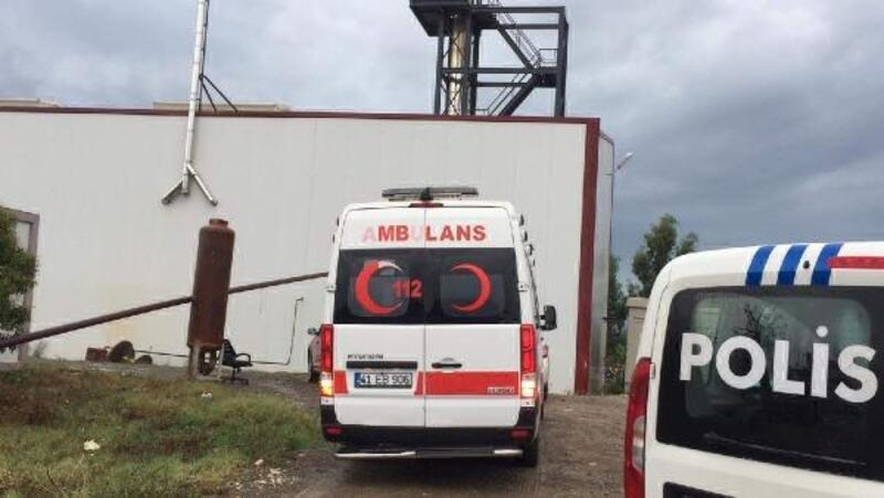 Arıtma tesisinde iş kazası: 1 yaralı