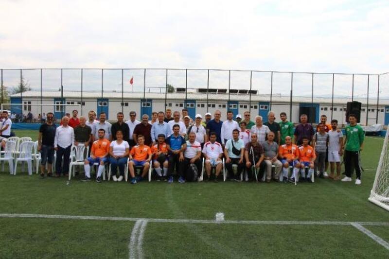 Görme Engelliler 2'nci Lig maçları Erbaa'da başladı