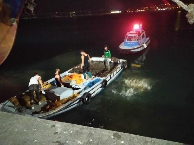 Tekirdağ'da, kaçak midye avcılığına 5 gözaltı