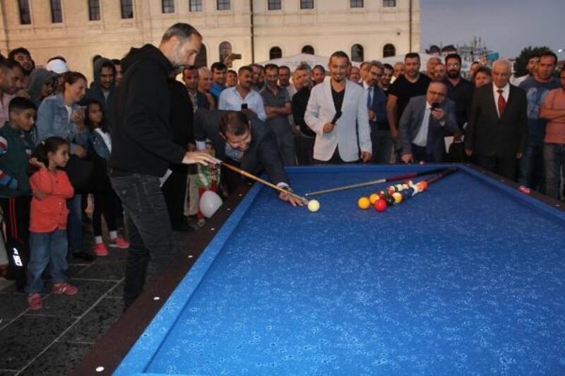 """Sivas'ta """"4 Eylül Bilardo Şampiyonası"""" düzenlendi"""