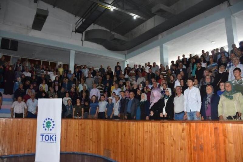 Kırıkkale'de TOKİ konutları için kura heyecanı