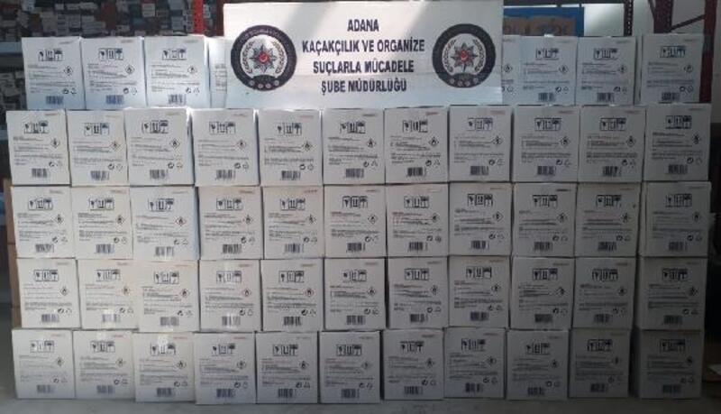 Sahte alkolden ölümlerin olduğu Adana'da etil alkol operasyonu