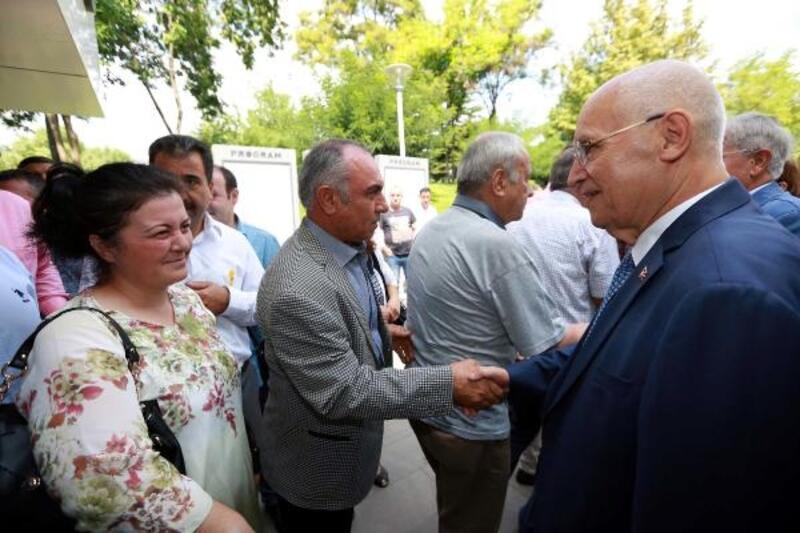 Başkan Yaşar, personeli ile bayramlaştı