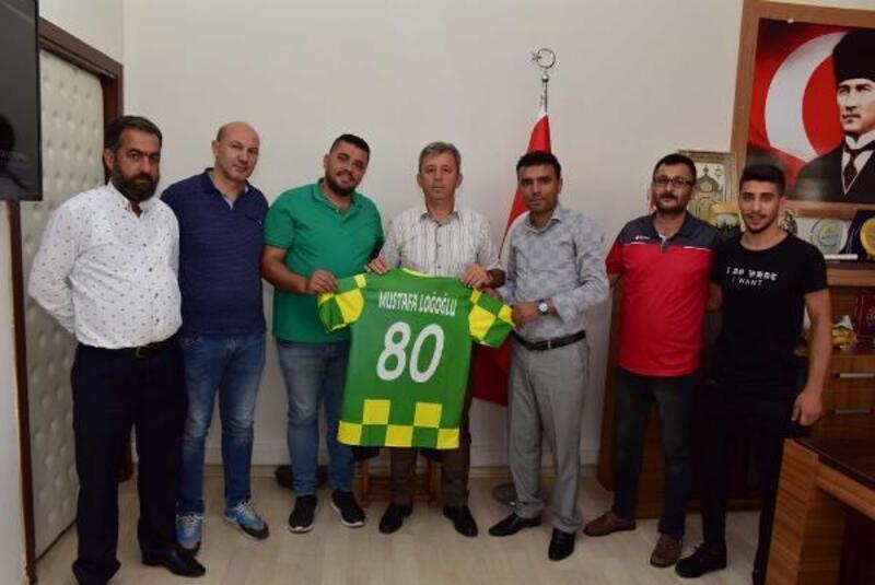 Osmaniyespor Taraftarlar Derneği'nden Loğoğlu'na ziyaret