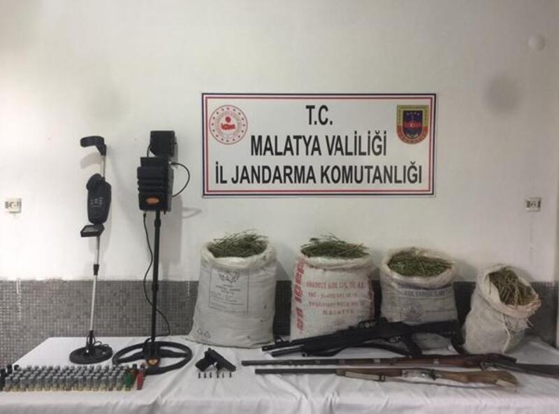 Malatya'da 55 kilo esrar ele geçirildi