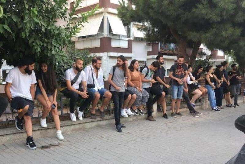 GSF'li öğrenciler, Narlıdere Kampüsü'nde nöbete başladı