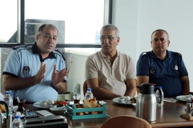Zabıta müdürleri Mezitli Belediyesi'nde buluştu