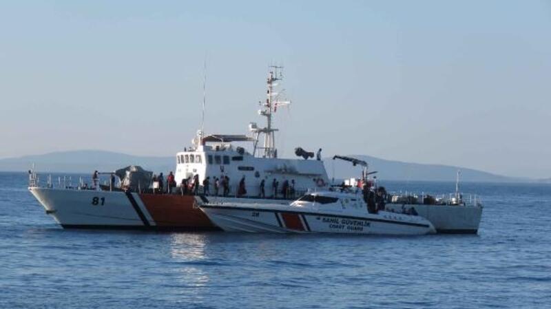 Çanakkale'de 220 kaçak göçmen yakalandı