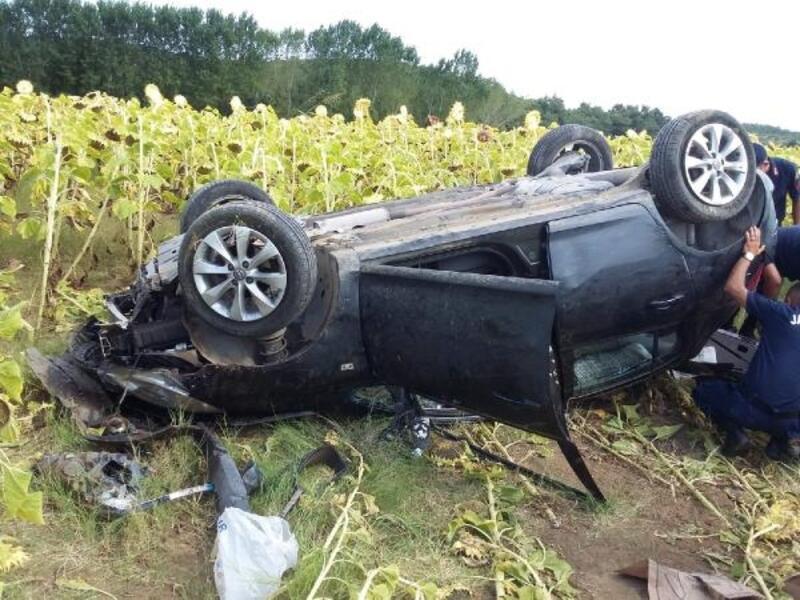 Keşan'da trafik kazası: 5 yaralı