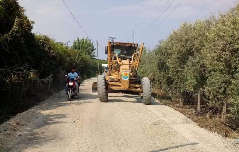 Tarsus'taki asfalt çalışmalarının büyük bölümü tamamlandı