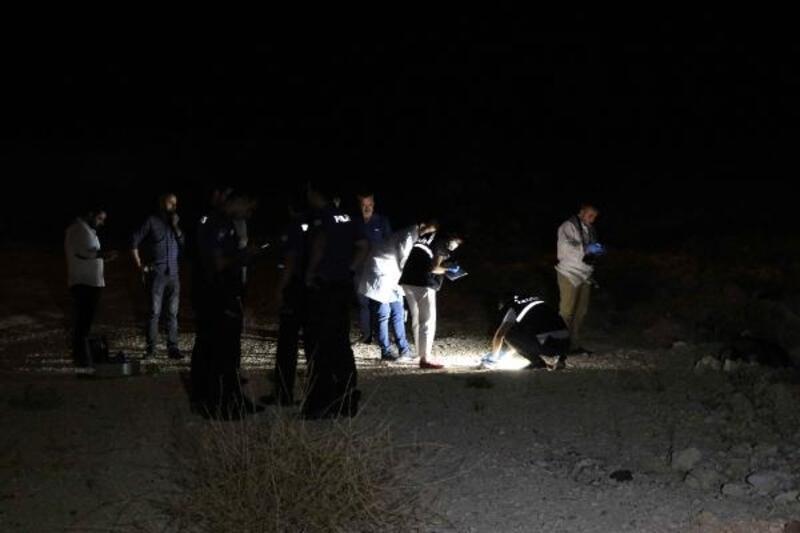 Gaziantep'te boş arazide erkek cesedi bulundu