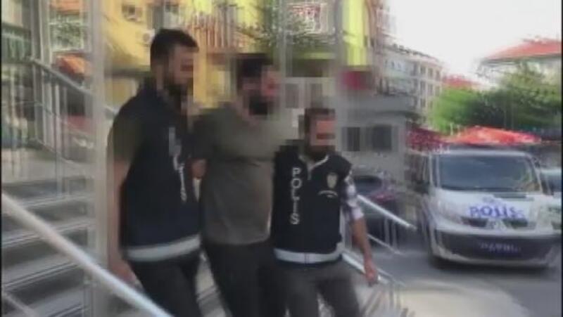 Şişli'de taksiciyi gasp eden şüpheli yakalandı