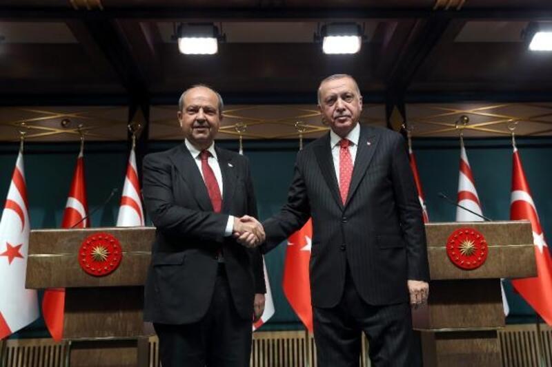 Cumhurbaşkanı Erdoğan: Doğu Akdeniz'de ne Türkiye'yi ne de KKTC'yi yok sayan hiçbir proje hayata geçirilemez