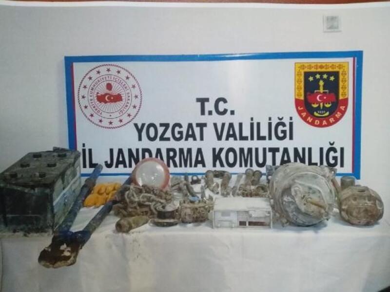 Yozgat'ta hırsızlık şüphelileri yakalandı