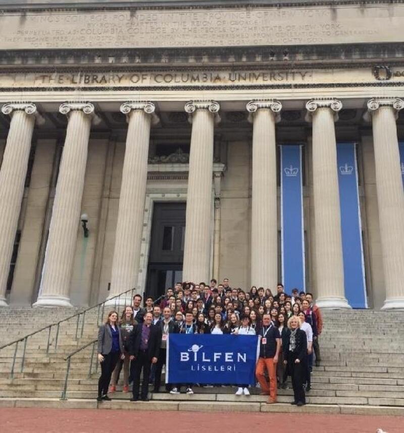 Liseli öğrenciler Dünya Bilim Festivali'nde