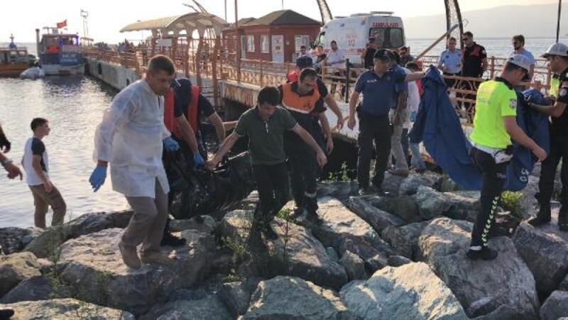 Gemlik sahilinde kadın cesedi bulundu