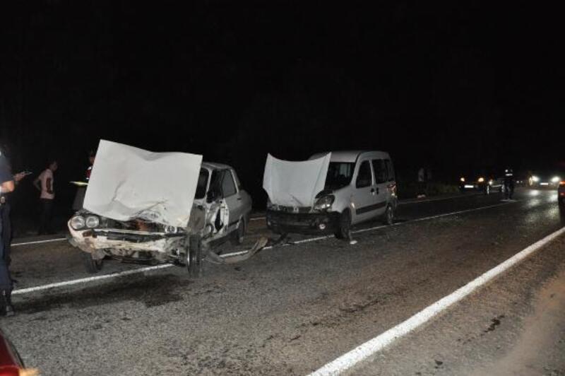 Bartın'da zincirleme kaza: 4 yaralı