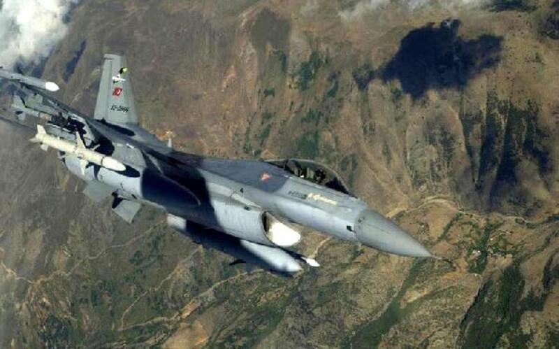 Irak kuzeyinde 4 terörist etkisiz hale getirildi