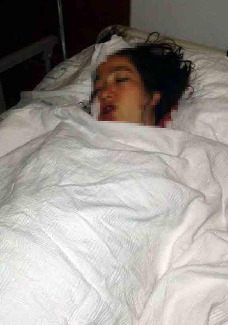 Yeni doğum yapan eşini hastane odasında bıçakladı