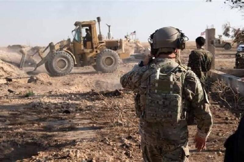 Suriye'de teröristlerin kazdığı hendekler, ABD askeri gözetiminde kapatılıyor