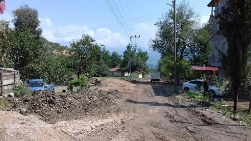 Niksar Belediyesinin alt yapı çalışmaları devam ediyor