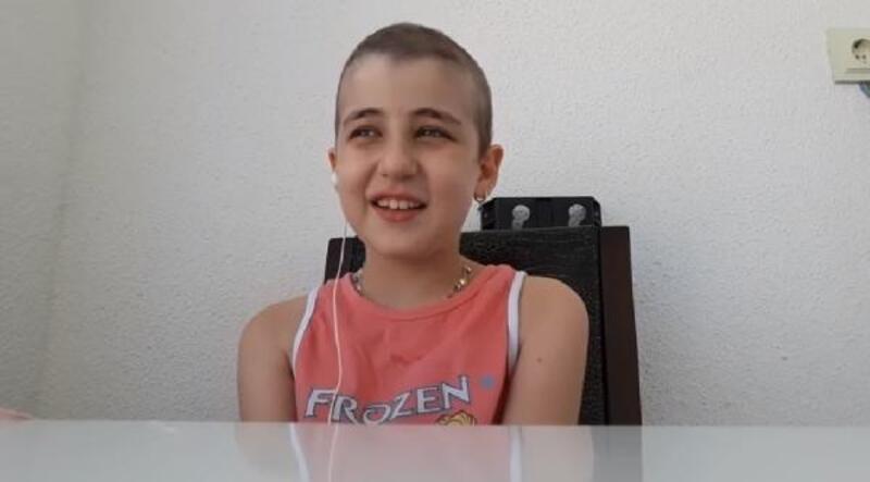 Lösemili Yasemin'den, hastalıkla mücadele eden akranlarına destek