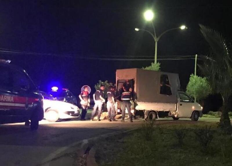 Milas'ta 28 kaçak göçmen yakalandı