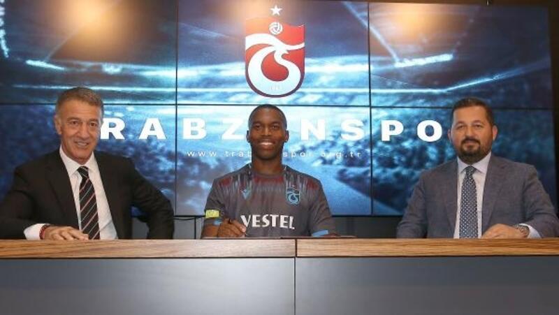 Trabzonspor'da Sturridge imzayı attı