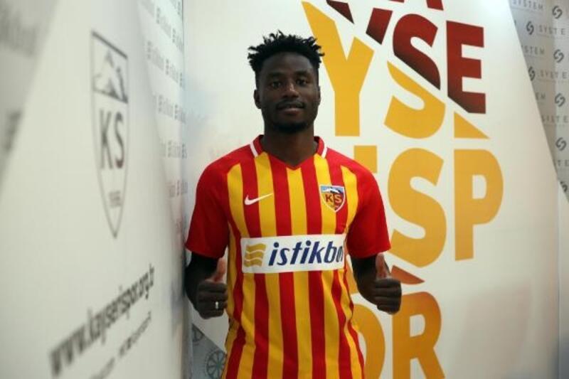 Kayserispor, Kamerunlu Ntep'i transfer etti